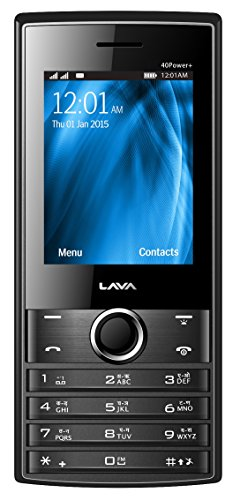 Lava KKT 40 Power Plus (Black-Grey) image
