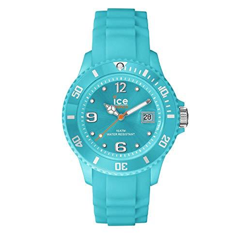 Ice-Watch - Ice Forever Turquoise - Blaue Herrenuhr mit Silikonarmband - 000964 (Large)
