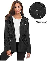 Amazon.it  Girocollo - Unica   Giacche e cappotti   Donna  Abbigliamento b9f4a1c1796