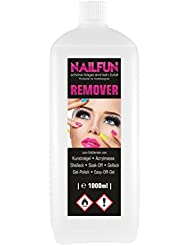 1 Liter REMOVER für Gellack, Shellack, Soak-Off, Gel-Polish, Easy-Off-Gel, Acrylmasse und Tips, 1x 1 Liter = 1000ml