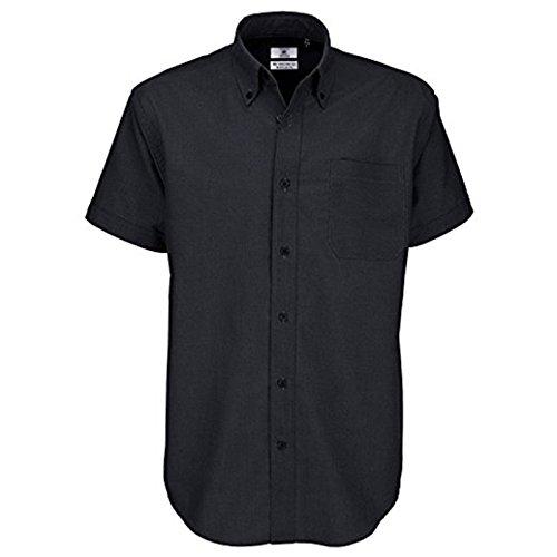B&C Collection -  Camicia classiche  - Uomo Black XXXX-Large - Moto Graphic Design
