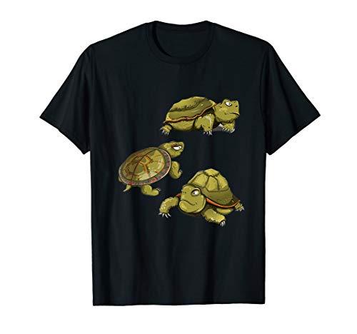 Verrückte Schildkröte Lady Shirt T-Shirt