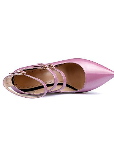 UWSZZ IL Sandali eleganti comfort Scarpe Donna-Sandali-Ufficio e lavoro / Formale / Casual / Serata e festa-Tacchi / Comoda / Innovativo / Alla schiava / Decolleté / A White