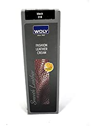 Woly Fashion Dark Brown Leather Dye, Cream Based. Replaces Color Loss & Guards Against Dirt and Moisture for Designer Handbag and Clothes. by Woly