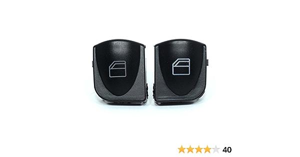 2x Vorne Links Rechts Fensterheber Schalter Knopf Taste Tasten Taster Fensterheberschalter Auto