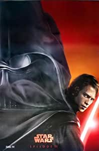 """M-060 Star Wars: Episode III - Revenge of the Sith (2005) Anakin Skywalker Wall Decoration Movie Poster Size 23.5""""x35"""""""