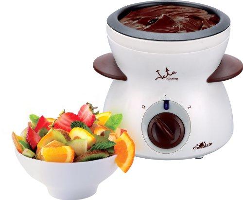 Jata FC112 Fondue de Chocolate, 25 W, Acero Inoxidable, plástico, Blanco