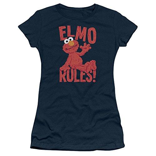 Sesame Street Damen T-Shirt Navy