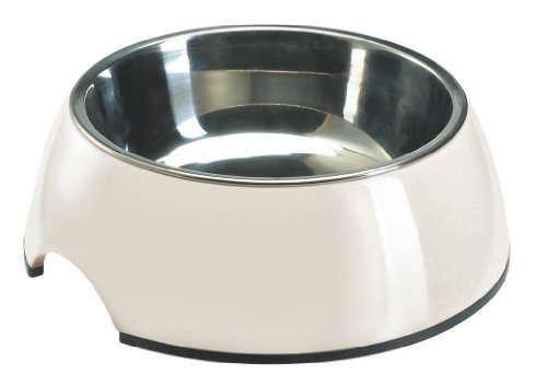 Hunter Melamin-Napf, 700 ml, weiß (Pet Dog Bowl)