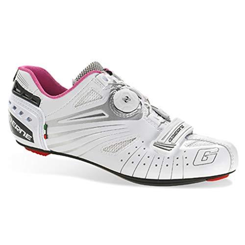 Gaerne Carbon Composite G.Luna Scarpe Donna Road Ciclismo, White - Bianco, 39