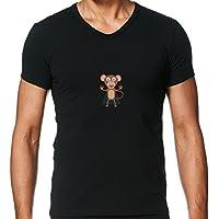 T-shirt scollo a V Uomo - Halloween Vampire by ilovecotton