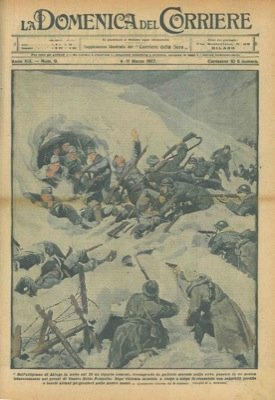 Violenta lotta e battaglia sull' Altopiano di Asiago.