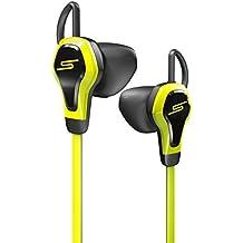 SMS Audio BioSport - Auriculares in-ear (control remoto integrado, con pulsómetro, 3.5 mm), amarillo