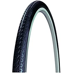 Michelin World Tour - Cubierta de ciclismo 650X35A World Tour Negra