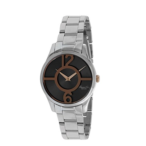 Kenneth Cole New York Women's Quartz Watch with Silver Stainless Steel 10019639