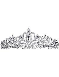 7b582cf12634 Ogquaton Premium corona nupcial tiara princesa corona boda tiara novia baile