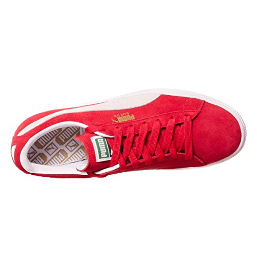Unisex Basse Classico Pelle Scamosciata Da Red Scarpe Ginnastica Della Puma 0z1wqpxCw