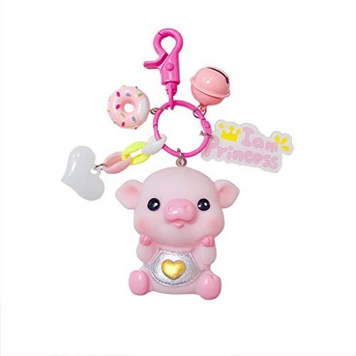 Pengye Py Schlüsselbund Anime Schwein Cartoon schlüsselanhänger kleines Geschenk Puppe Urlaub Geschenk schmuck