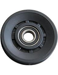 KYLIN SPORT Roue de Câble Poulie Gorge Universel Nylon 90mm Installé Dans les Machines de Gym Musculation …