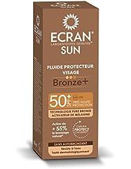 Ecran Fluide Protecteur Visage Bronze SPF50 + -