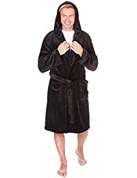 9242019dc0 Mens Supersoft Housecoat Fleece Bath Robe Dressing Gown Gents Warm Winter  Style