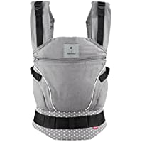bellybutton by manduca BabyCarrier > WildCrosses < Exklusive Designer Kollektion 2018 I Baby- und Kindertrage mit Hüftgurt & Rückenverlängerung 100% Bio Baumwolle I Für Babys von 3,5kg bis 20kg
