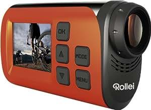 Rollei 40262 Actioncam S-30 WiFi (Action-, Sport- und Helmkamera mit Full HD Video-Auflösung) Orange