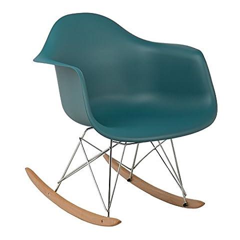 Chaise à bascule IMS Bleu Turquoise Intense - (Plus de