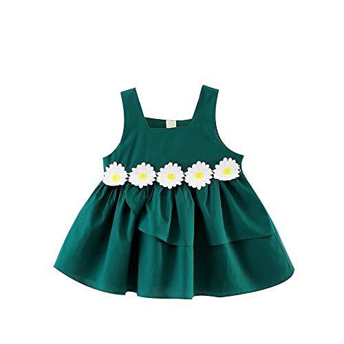 Obestseller Kleider für Mädchen Niedlichen Kleinkind Baby Mädchen ärmellose Blumen Spitzenkleid Kleid Kleidung Kleid Kinderbekleidung Baby Baumwolle Baby Prinzessin Kleid