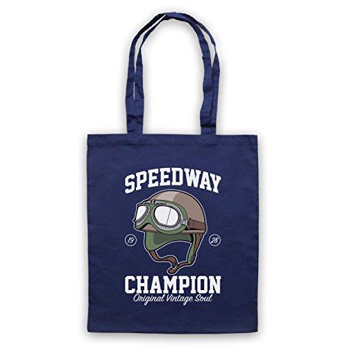Speedway Champion Original Vintage Soul Umhangetaschen Ultramarinblau