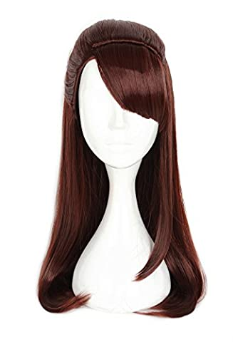 Mtxc Little Witch Academia Cosplay Atsuko Kagari Perruque rousse