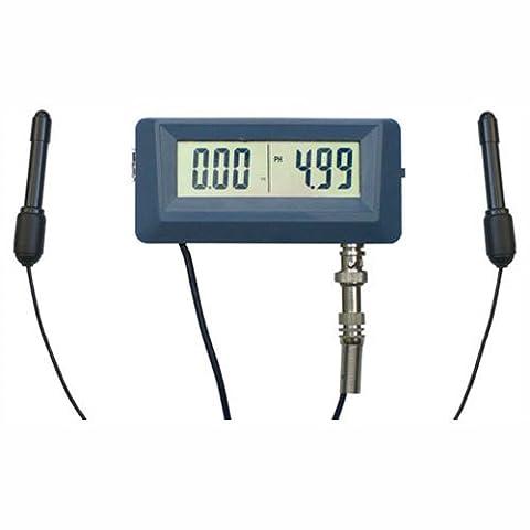 Digital pH Meter / Tester and EC Conductivity continuous Monitor (pH-0253)