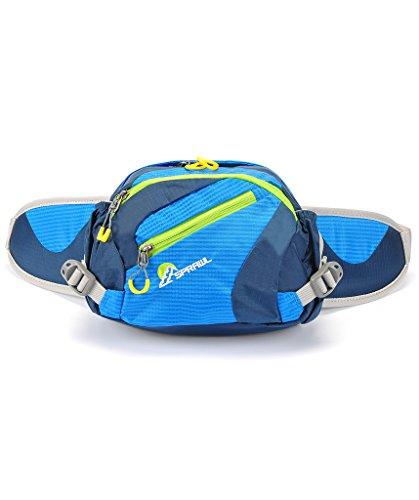 SPRAWL Gürteltasche Damen Multifunktionale Hüfttasche für Urlaub Blau