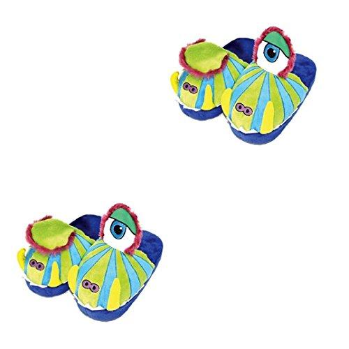 Magic Movers Bewegliche Slipper / Pantoffeln für Kinder (wie Stompeez) Zehn verschiedene Designs Monster