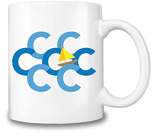 Figaro Interaktyvo Segel die Sieben Cs - Sail The Seven Cs Coffee Mug Ceramic Coffee Tea Beverage...