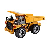 TD Drahtloser entfernter Kipper-große Ladetechnik-Fahrzeuge Ziehen den Boden-Kipplaster-Kindertransporter-Spielzeug
