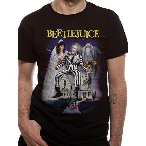 Beetlejuice T-Shirt Poster T-shirt for Men