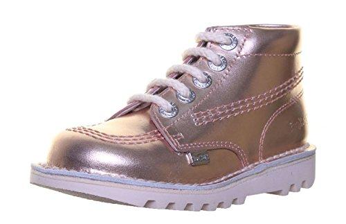Kickers Kick Hi Inf Kinder Leder matt Schuhe Metalbrz SS19