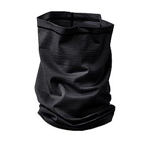 Engel Sports Schlauchschal – wärmend, sportlich, stylisch | GOTS-zertifizierte Funktionswäsche (black)