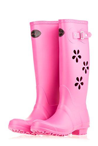 MEI - Stivali di gomma Donna Pink