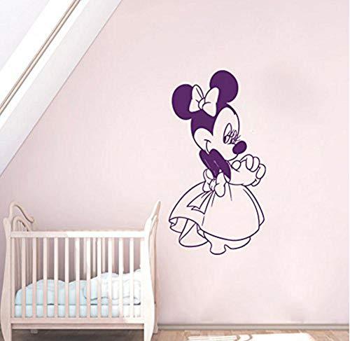 Anime Kostüm Maßgeschneiderte - PVC Vinyl Kostüm Kinder Name Baby Wandaufkleber Für Zimmer Dekoration 85x50cm