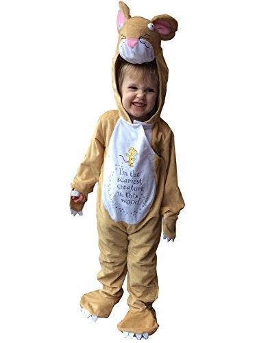 Grüffelo Maus - 5-7 Jahre - Gruffalo Kostüm