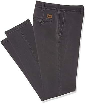 Carrera Jeans Chinos Gabardina Stretch, Vestibilita' Regolare, Pantaloni Uomo, 874 Grigio, 45 IT (30W/34L)