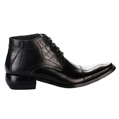Chaussures à lacet homme - KDOPA - Noir - GLENN - Millim Noir
