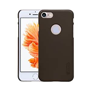 Crazy4Gadget NILLKIN Frosted Shield for iPhone 7 Concave-convex Texture PC Protective Case Back Cover(Brown)