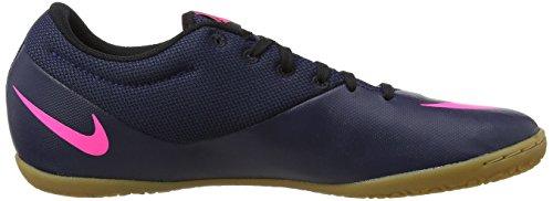 Nike Herren MercurialX Pro IC Fußballschuhe Blau (Midnight Navy/midnight Navy-pink Blast)