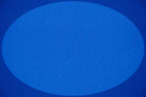 Filz, Filzstoff, Dekorationsfilz, Weicher Filz, Breite 150cm, Dicke 3mm, Meterware 0,5lfm – blau - 2