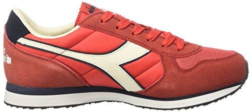 Diadora K-Run II, Sneaker a Collo Basso Uomo Rosso (Rosso Boreale/Blu Profondo)