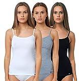 Damen Unterwäsche-Collection Modern, Spaghetti-Unterhemden, Tank Tops, Shirts, Taillenslip, Hipster, String Tanga, Bikini-Slip