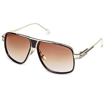 Marke Entwerfer Klassische Sonnenbrille für Herren Quadrat geformte Retro männliche Eyewear Brille UV400